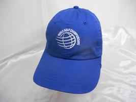 Old Vtg WORLD GOLF CHAMPIONSHIP BASEBALL CAP Hat BRIDGESTONE INVITATIONAL - $19.79