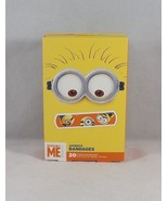 Aso Despicable Me Minion 20 Sterile Adhesive Bandages - New - $4.74