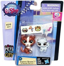 Littlest Pet Shop Branwyn Bloomer and Maybelle MacTuck Figures - $12.86