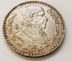 Mexico Silver Peso (Morelos) Coin 1963 KM#459  circulated - $10.95
