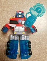 "Playskool Heroes Transformers Rescue Bots Energize Optimus Prime 6 1/2"" Figure - $9.79"