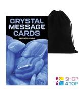 Cristal Message Cartes Par Valencia Cham Explore The Wisdom US Games Sys... - $37.54