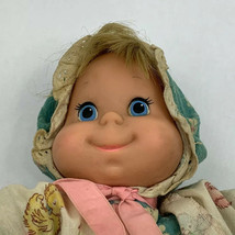 Vintage 1970 Mattel Baby Beans Talking Doll Pull String 11 Inches - $24.99