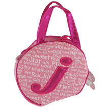 Aurora World Plush - Initials Pet Carriers - Letter J - Toy Purse - New - $8.00