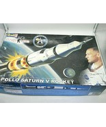 Revell Apollo Saturn V Rocket Model Kit Buzz Aldrin 1:144 scale Incomple... - $39.57