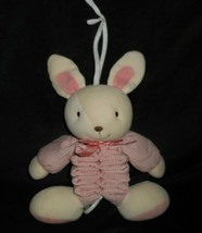 Carter's Just One Year Pink Bunny Rabbit Musical Stuffed Animal Plush Toy 5139 - $45.82