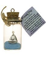 2.5 Inch FriendShip Bottle Charm Keepsake Gift for a Friend - $146,34 MXN