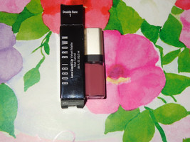 Bobbi Brown Luxe Liquid Lip Velvet Matte Double Dare 1 Mini Size Nib - $10.79