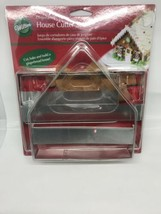 WILTON Gingerbread House Cutter Set-New,Unopened,Unused-3 piece set & recipe - $9.89