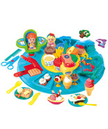Playgo PLAY DOUGH DOUGH-GO-AROUND  (6 Colors of Play Dough Included) ~NEW~ - $43.49