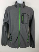 Marmot Fleece Knit Mens Jacket Size XL Gray - $49.49
