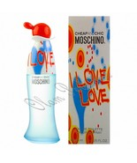 Moschino I Love Love For Women Eau de Toilette Spray 3.4oz 100ml * New i... - $36.25