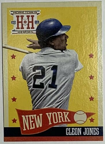 Primary image for 2013 Panini Hometown Heroes #66 Cleon Jones  New York Mets Baseball Card