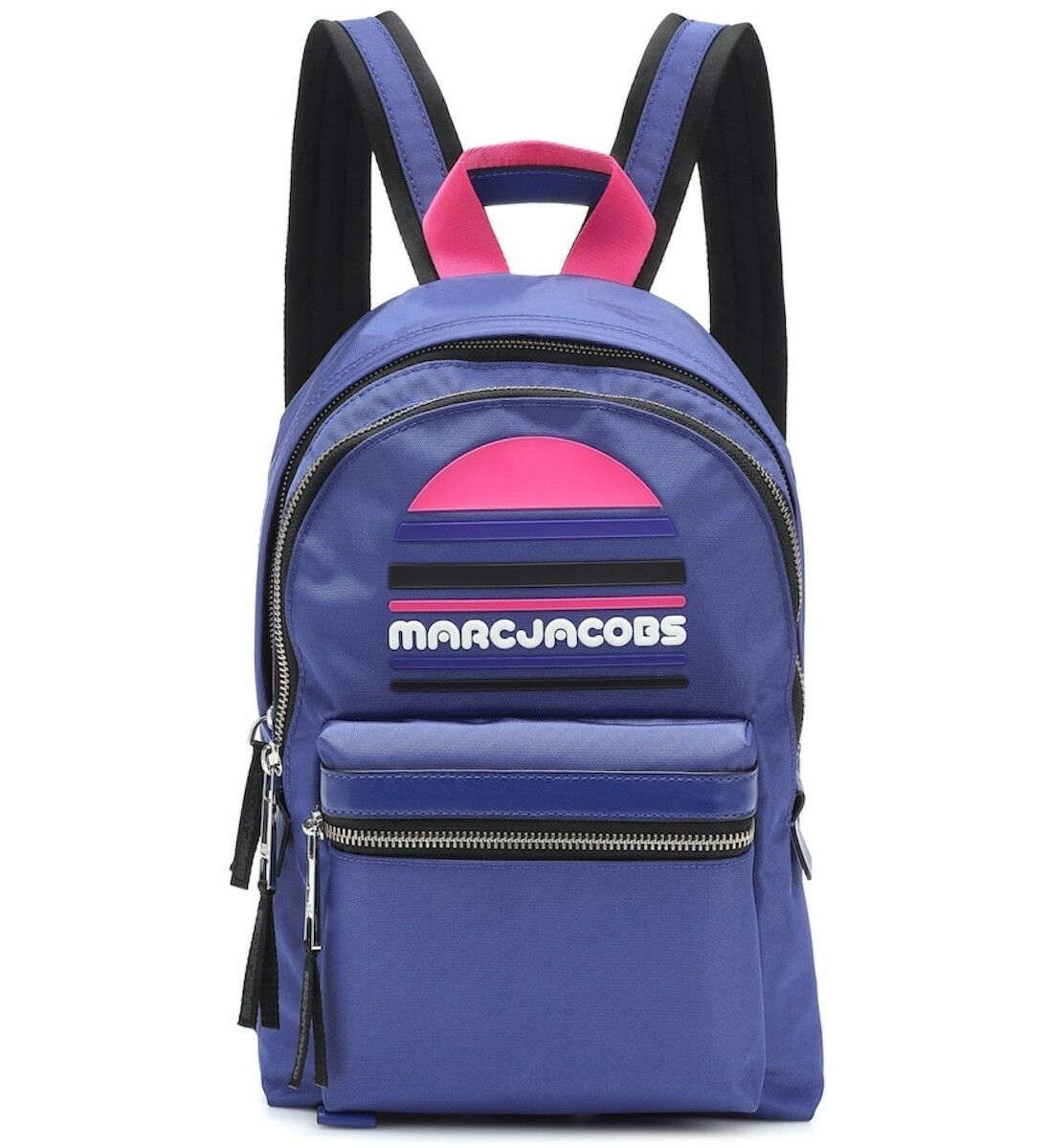 Primary image for Marc Jacobs Backpack Trek Pack Large Logo Royal Blue NEW