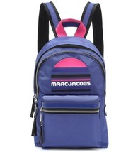 Marc Jacobs Backpack Trek Pack Large Logo Royal Blue NEW - $148.50