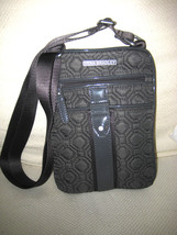 VERA BRADLEY Gray Cross Body Shoulder Organizer Bag MINT - $37.62