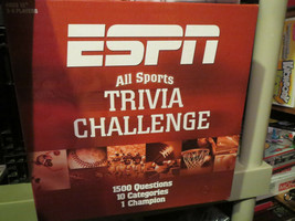 ESPN 21st Century Trivia Board Game - includes Chalk Talk and Instant Replay - $19.00