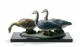 Lladro 01012548 EGYPTIAN GEESE Base Included Limited Edition New  - $1,633.50