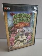 Mahjong Garden Deluxe (PC,Cd rom  2008) EA Games Pogo/ Everyone w Manual - $19.68