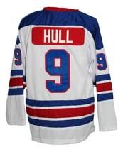 Custom Name # Jets Wha Retro Hockey Jersey New White Bobby Hull Any Size image 4