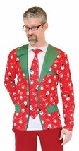 Ugly Christmas Sweater Suit Tie Mens Adult Costume Party FR130557 - €40,81 EUR