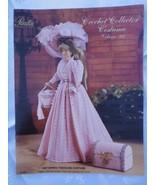 "Paradise Crochet 1897 SPRING TRAVELING DRESS 11 1/2"" Doll Costume Patter... - $13.81"