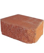 Retaining Wall Block Concrete Terra Cotta Red (144-Piece/46.6 Sq. ft./Pa... - $1,047.88
