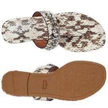 Coach Jaclyn Animal Print Women's Flip Flop Sandals Sz 7 M Shoes **New** - $80.74