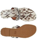 Coach Jaclyn Animal Print Women's Flip Flop Sandals Sz 7 M Shoes **New** - $80.74
