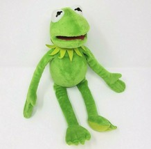 "16"" DISNEY TY KERMIT THE FROG GREEN MUPPET BABIES STUFFED ANIMAL PLUSH T... - $28.05"
