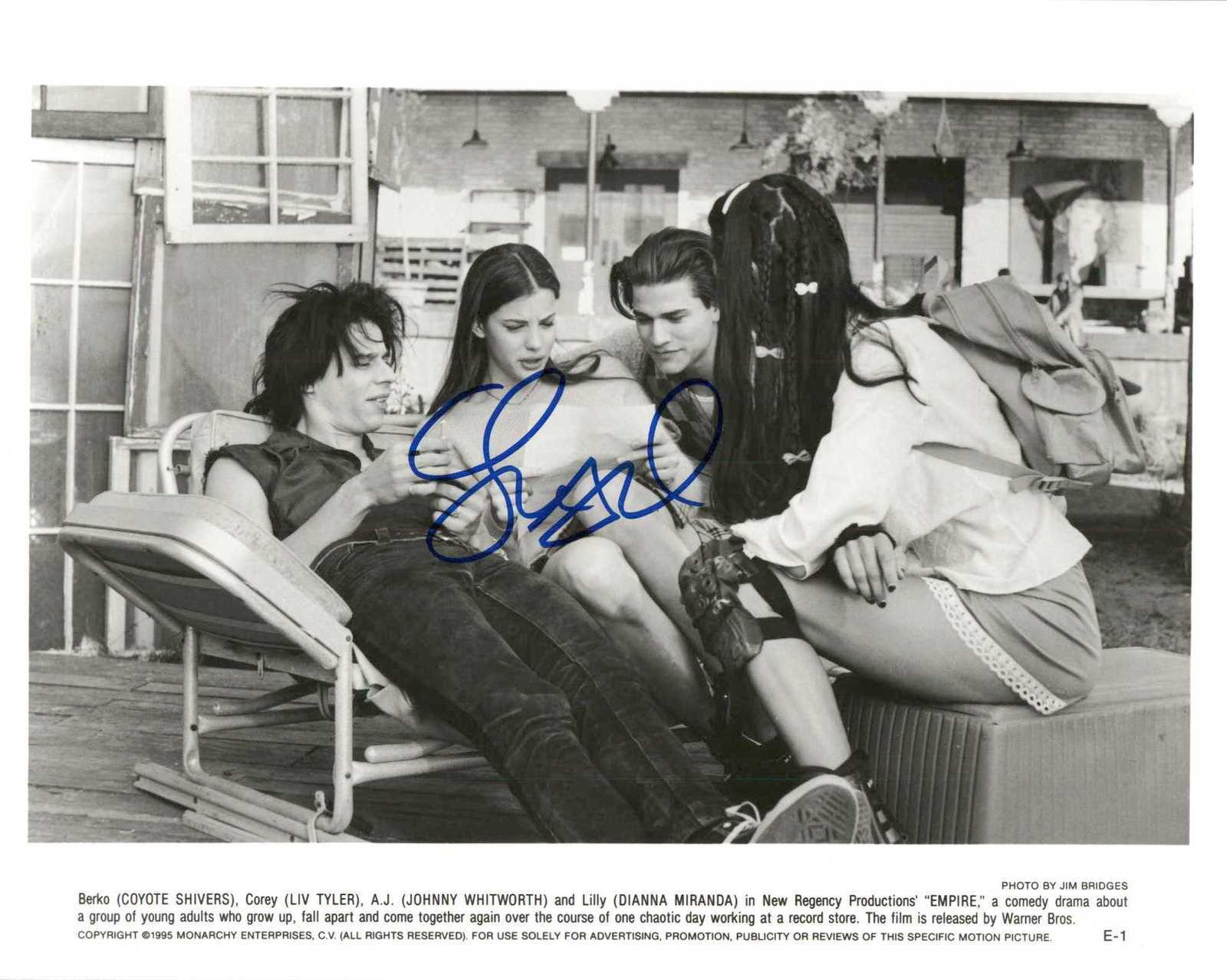 "Primary image for Liv Tyler Signed Autographed ""Empire"" Glossy 8x10 Photo"