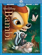 Disney Bambi (Blu-ray/DVD, 2011, 2-Disc Set, Diamond Edition)