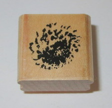 Background Design Rubber Stamp Close To My Heart Wood Mounted  - $3.55