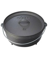 New Lodge L12C03 Camp Dutch Oven 6 Quart with Feet - New in Box - $49.45