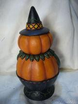 Bethany Lowe Pumpkin Pete Spooks Jar for Halloween image 3
