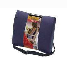 Slimrest- Deluxe A Relaxing, Slim Back Cushion 30cm x 36cm - Black - $31.79