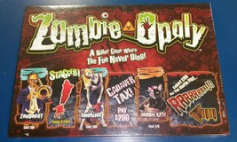 Zombie Opoly Zombies Monopoly Board Game Night ... - $39.59