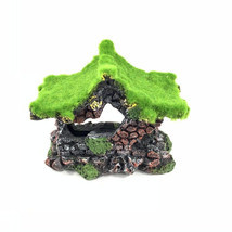 1Pcs Mini Resin House Miniature House Fairy Garden Micro Landscape Home ... - £12.00 GBP