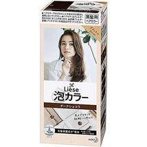 Liese Kao Bubble Hair Color Prettia - Dark Chocolat