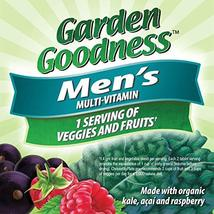 Nature's Way Alive! Garden Goodness Men's  Multivitamin, Veggie & Fruit Blend 14 image 2