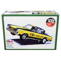 Skill 2 Model Kit 1966 Plymouth Barracuda Funny Car Hemi Under Glass 1/2... - $59.66