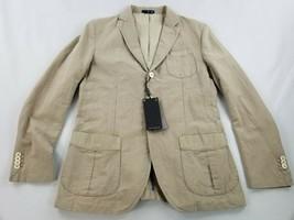 new MASSIMO DUTTI men jacket blazer 2017/278/710 khaki beige sz 40 $140 - $79.19