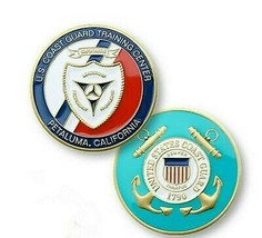 "COAST GUARD TRAINING CENTER PETALUMA 1.75"" CHALLENGE COIN - $18.04"