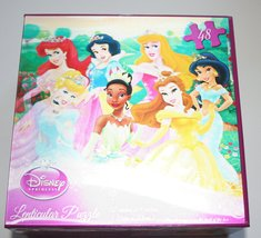 Disney Princess' 48 Piece Lenticular Puzzle by Cardinal Industries - $2.99