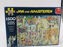 """Jan Van Haasteren """"The Building Site"""" 1500 Piece Jigsaw Puzzle - $52.00"""