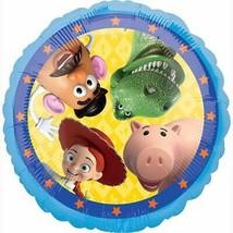 "Toy Story 4 Mylar Foil Balloon 17"" Birthday Party Decoration NEW - $3.91"