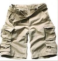 Summer Men Fashion Cargo Shorts Loose Casual Shorts - $32.64