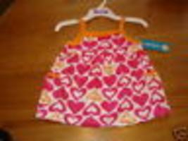 Carter's Pullover Tank Top Kleinkind Baby Mädchen Nwt 12 Monat Rosa Blumen ^^ - $8.53