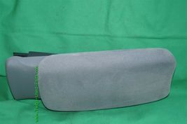 06-11 Honda Civic Sliding Armrest Arm Rest Center Console Lid Cover Fabric Gray image 4