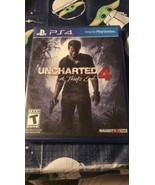 Uncharted 4: A Thief's End - PlayStation Hits PS4 Brand New Sealed  - $12.38